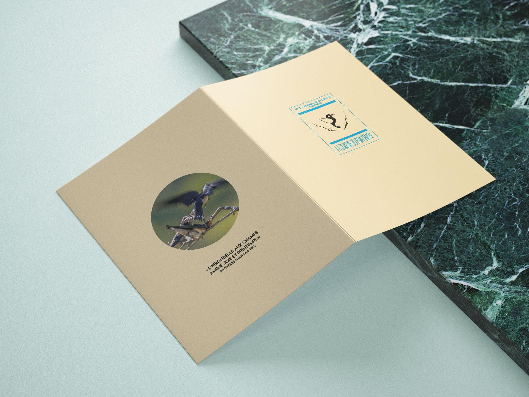 Création de brochure